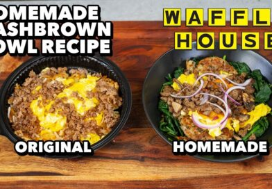 Reimagined Reduced Calorie Waffle House Hashbrown Bowl