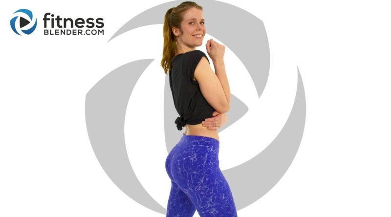 At Home Butt and Thigh Workout with No Equipment